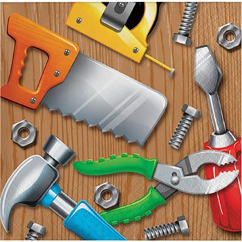 Handyman Tools Party Supplies
