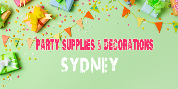 Party Supplies in Sydney