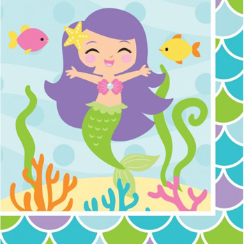 Mermaid Friends Party Supplies