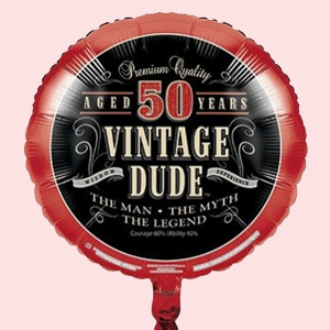 Vintage Dude Party Supplies